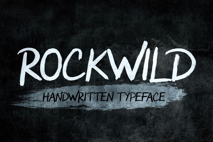 """Check out my @Behance project: """"Rockwild Typeface"""" https://www.behance.net/gallery/62106649/Rockwild-Typeface"""