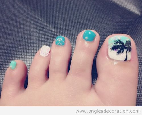decoration ongles pieds