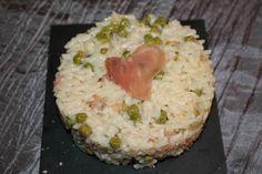 risotto petit pois jambon de bayonne au cookeo
