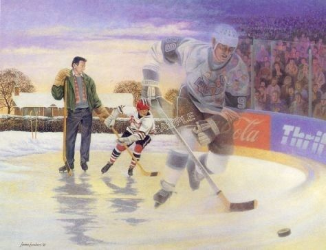 "James Lumbers - ""A Boy and His Dream Wayne Gretzky"""