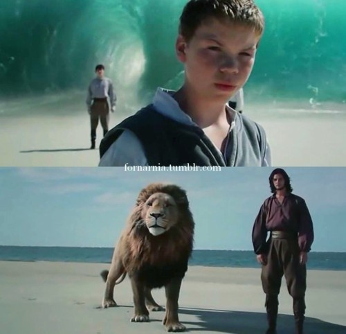 Eustace: Will I come back?Aslan: Narnia may yet have need for you.