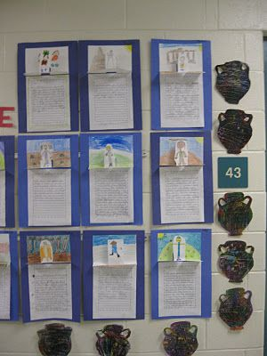 Idea for ancient Greece - actually, love this idea for writing a paragraph in general!