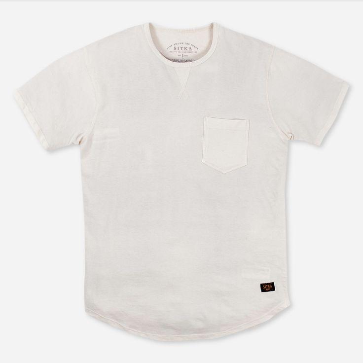 M Organic Athletic Pocket T-shirt