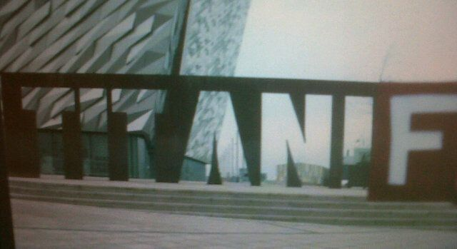 #TITANIF Northern Ireland's #IF campaigners spreading the message in a brilliant new way