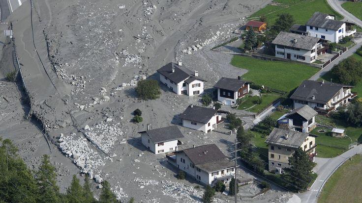 Katastrophe in Graubünden: Erneuter Murenabgang erfasst Bondo