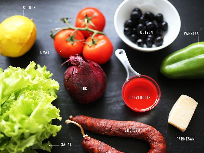 Chorizo salat | SPOON