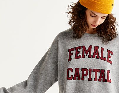 """Check out new work on my @Behance portfolio: """"PULL&BEAR   FEMALE CAPITAL"""" http://be.net/gallery/57155759/PULL-BEAR-FEMALE-CAPITAL"""