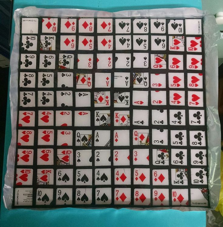 Amazing Casting Products: Have an AMAZING Game Night! #DIY Sequence Game Board by Bridget Cordero