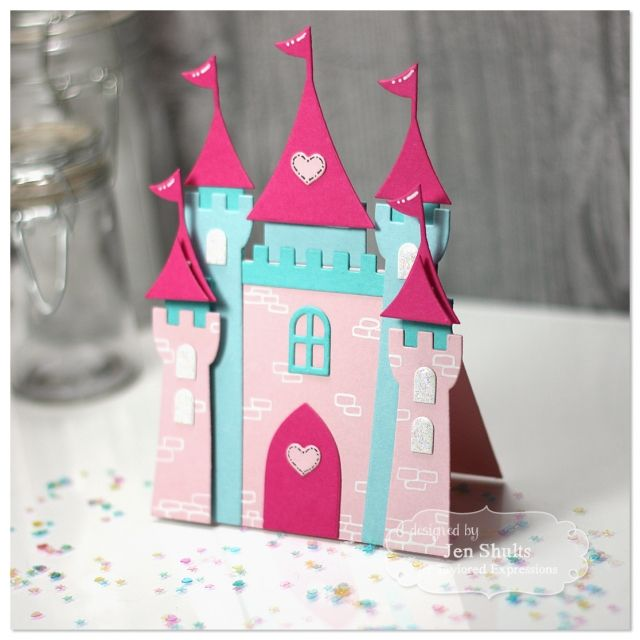 Princess Castle card by Jen Shults*