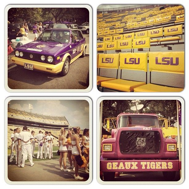 Behind the scenes at #Tiger Stadium prior to kickoff for the #LSU vs #Washington game. (@tyler_kaufman/SI) #NCAAF