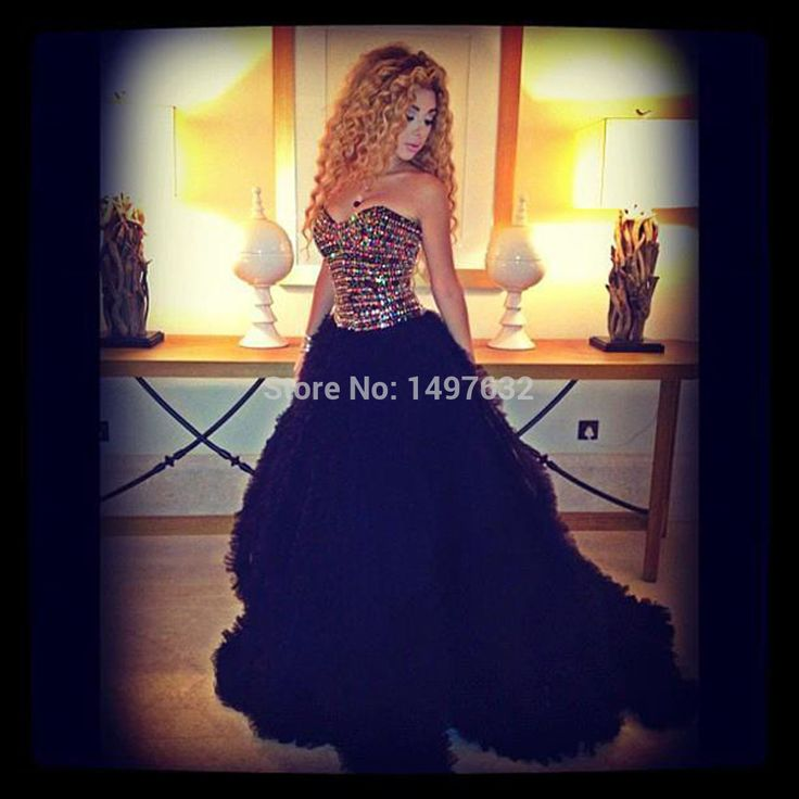 Custom Made Myriam Fares Sexy A Line Sweetheart Sleeveless Beading Tulle Long Celebrity Dresses 2017 vestido de festa-in Celebrity-Inspired Dresses from Weddings & Events on Aliexpress.com | Alibaba Group