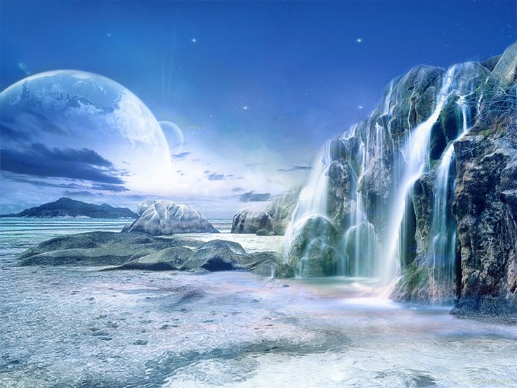 alien water planet - photo #4