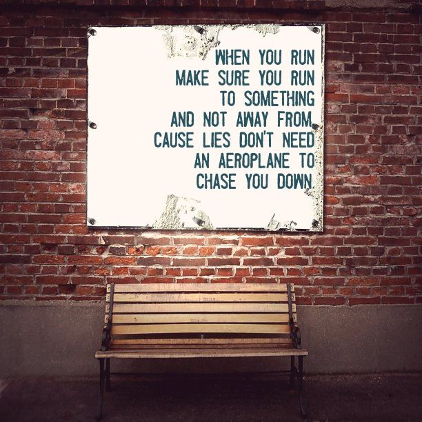 The Avett Brothers - Weight of Lies run to something not away from streetart