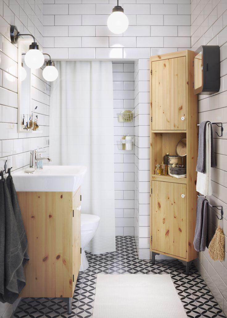 SILVERÅN hoekelement | #IKEA #IKEAnl #inspiratie #wooninspiratie #badkamer…