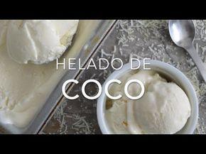 Helado de coco con solo 2 ingredientes (sin máquina)