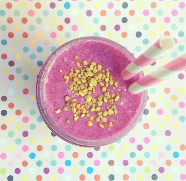 pink fruit fruit smoothie recipe