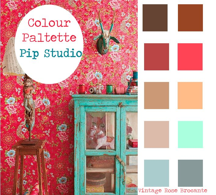 Colour palette pip studio