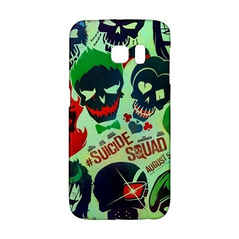 Suicide Squad Samsung Galaxy S6 EDGE or S3/S4/S5/S6/S7/S7 EDGE/NOTE 2/NOTE 3/NOTE 4/NOTE 5 Case Wrap Around