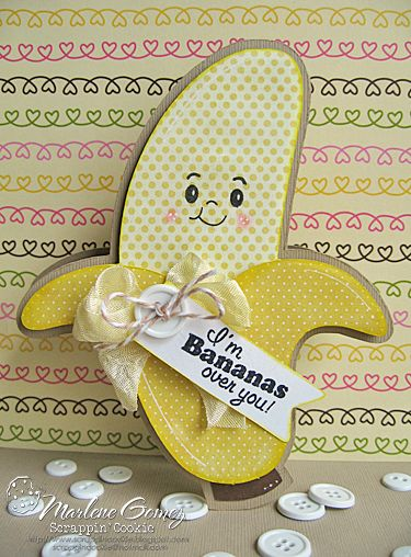 Fun for a Valentine Card!  BananasOverYou_MarleneGomez.png Photo:  This Photo was uploaded by Hearts0314. Find other BananasOverYou_MarleneGomez.png pictures and photos or upload y...