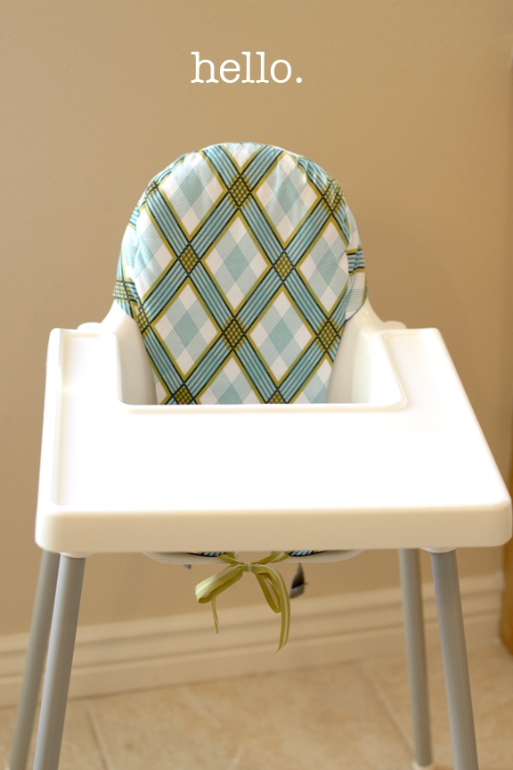 Diy Ikea Antilop Highchair Cushion