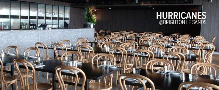Bar, cafe and restaurant design | Hurricanes Bar and Grill, Brighton-le-Sands, Sydney