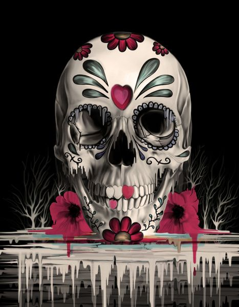 Sugar Skull by Kristy Patterson