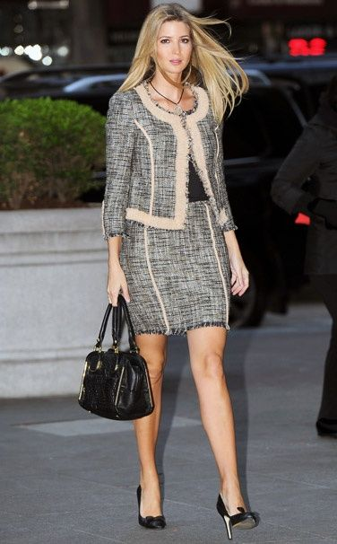 Classic Suit - Ivanka Trump wearing Ivanka Trump - Ten Best Dressed —  Without Borders Fashion