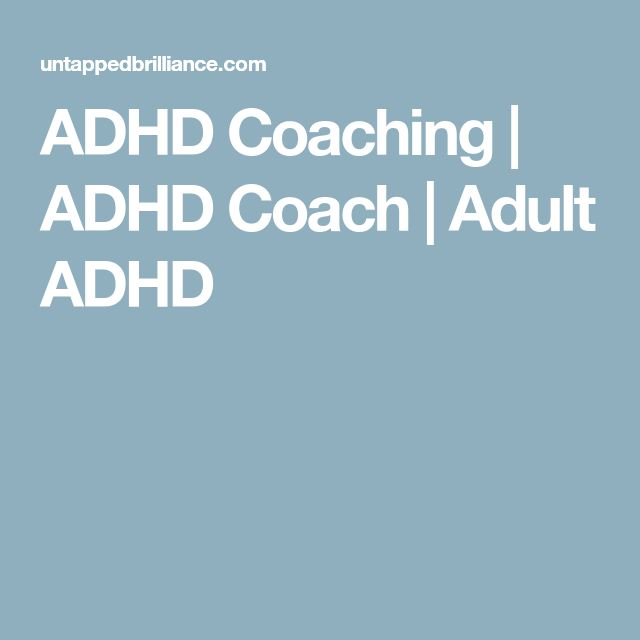 ADHD Coaching | ADHD Coach | Adult ADHD