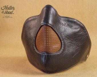 Motorcycle mask holler&hood Thunderbird hog by HollerandHood