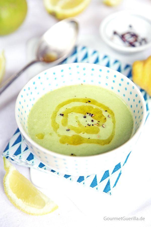 Zucchini-Zitronen-Suppe