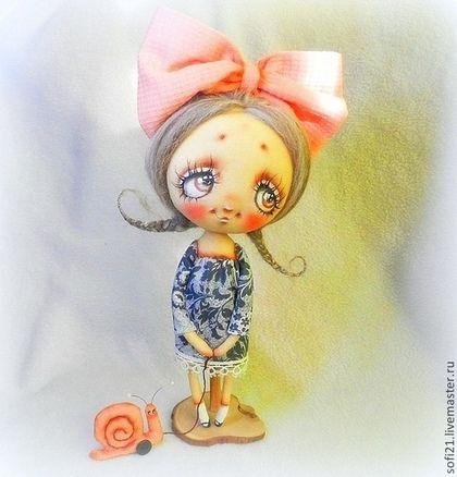 Тихая прогулка... - кукла,авторская игрушка,текстильная кукла,кукла в подарок
