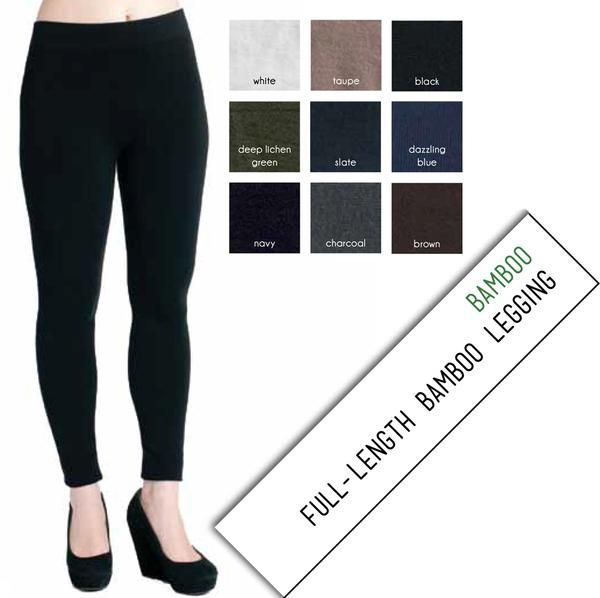 Our super-soft and naturally breathable, eco-friendly Bamboo seamless collection is a great part of a complete wardrobe. These super-soft full length bamboo leg