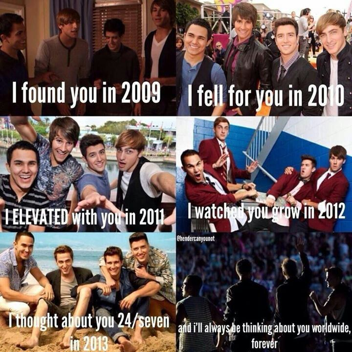 I teared up when I read this. Big Time Rush was my life and will always have a place in my heart.
