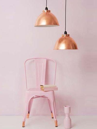 Twee trends in één: koper en pastel in de mix - Inspiratie! De comeback van koper | ELLE Decoration NL: