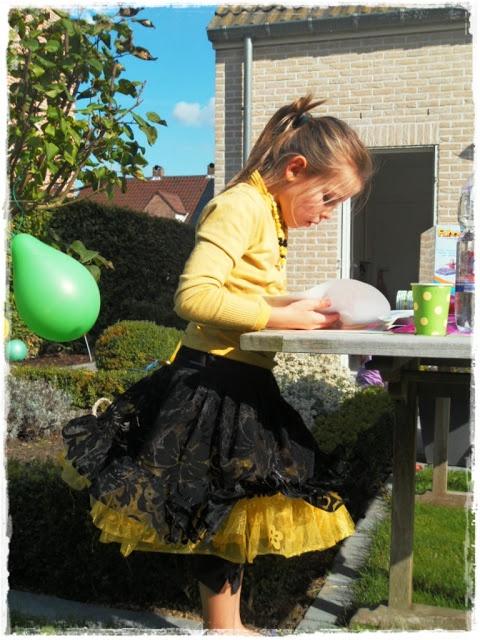 Petticoat voor haar 7de verjaardag