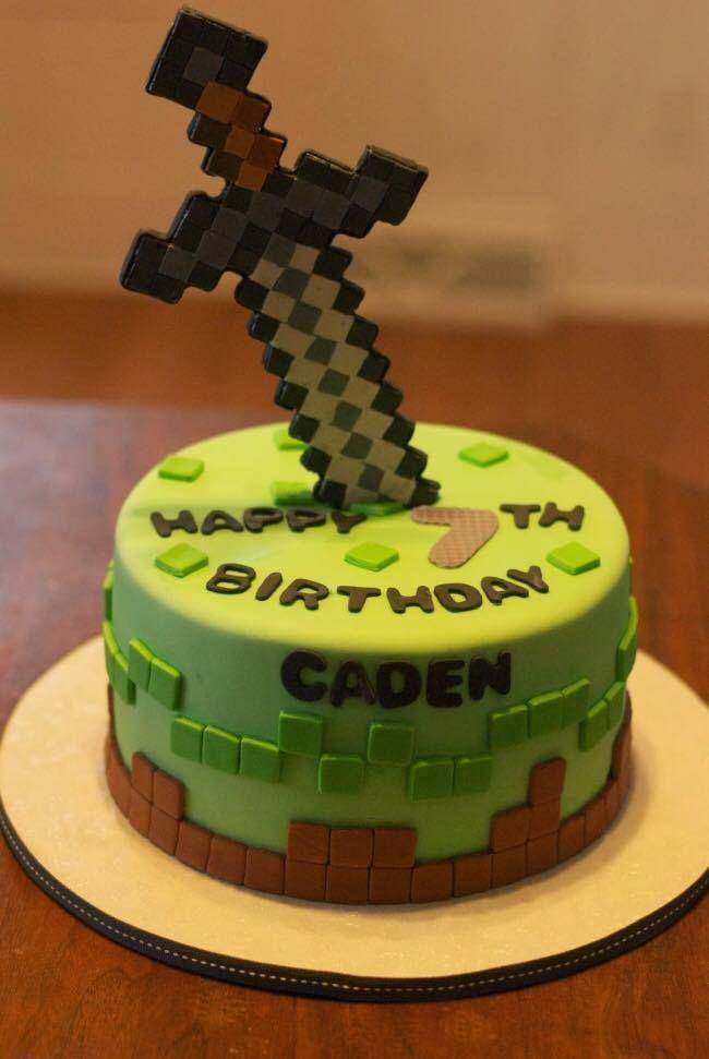 426 best Birthday Cakes images on Pinterest Minecraft birthday