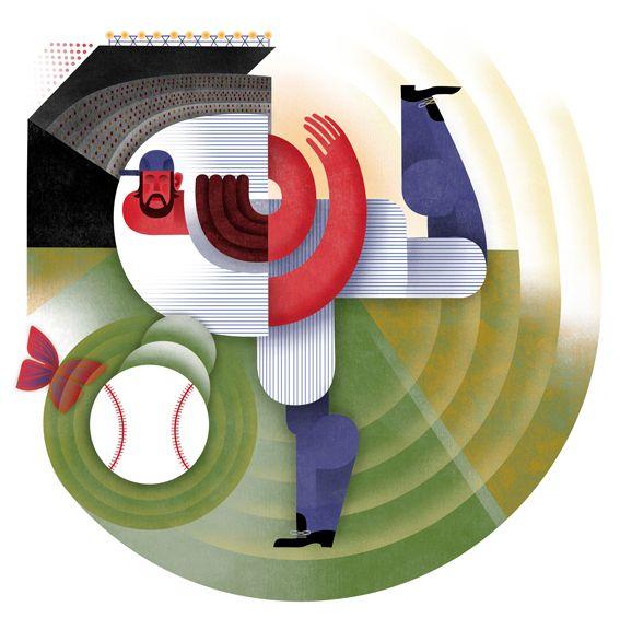 Press & Magazines 2012 by Maria Corte Maidagan, via Behance