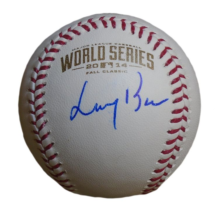Larry Baer Autographed Rawlings 2014 World Series Official Baseball, Proof Photo. Larry Baer Signed Rawlings 2014 World Series Official Game Baseball, San Francisco Giants,Proof Photo  This is a brand-new Larry Baer autographed Rawlings 2014 World Series official game baseball. Larry signed the baseball in blue ball point pen.Check out the photo of Larry signing for us. ** Proof photo is included for free with purchase. Please click on images to enlarge. Please browse our websitefor…