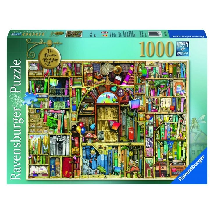 Ravensburger The Bizarre Bookshop 2 Puzzle 1000pc
