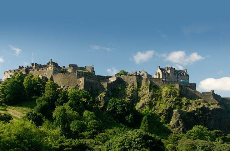 The Castle: Edinburgh's most famous attraction.