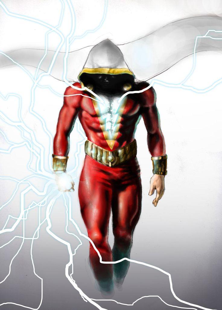 Shazam!byShinobi19 Fan Art/Cartoons & Comics/Digital/Movies & TV©2014Shinobi19
