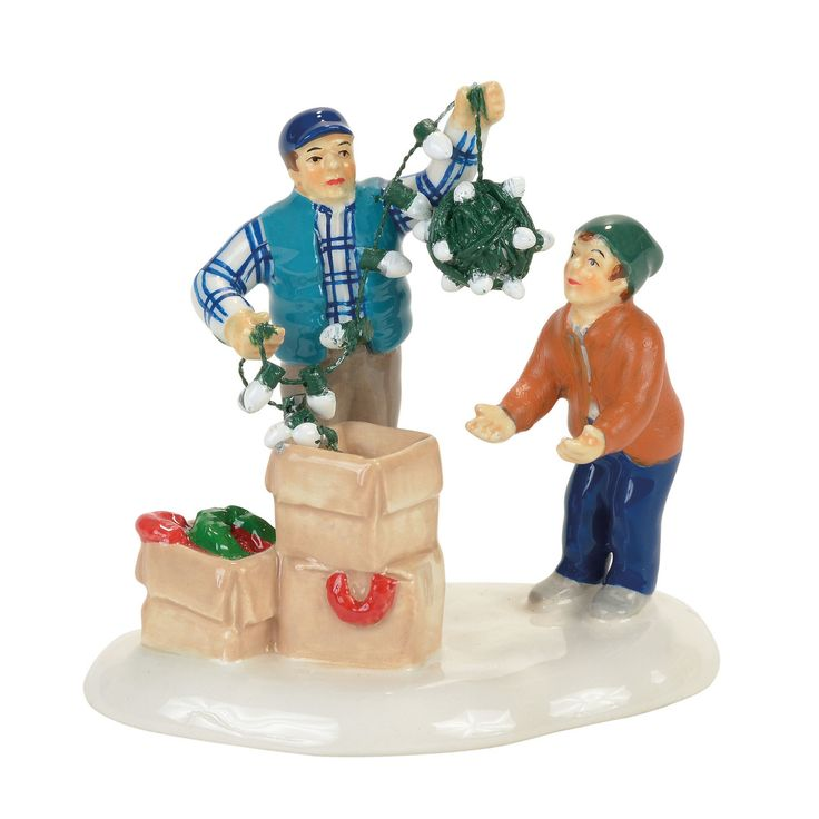 The Jolly Christmas Shop - Department 56 Christmas Vacation Village Clark and Rusty Continue Tradition Figure 4058668, $28.50 (https://www.thejollychristmasshop.com/department-56-christmas-vacation-village-clark-and-rusty-continue-tradition-figure-4058668/)