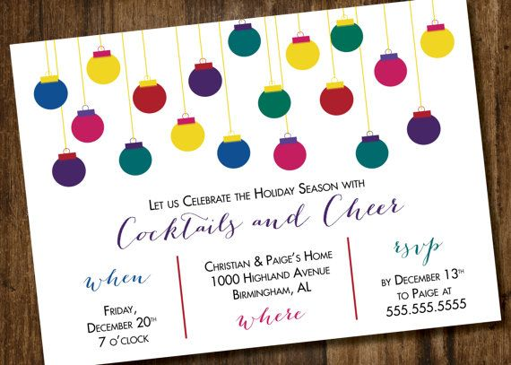 38 best Holiday Party Invites images – Holiday Party Invitations