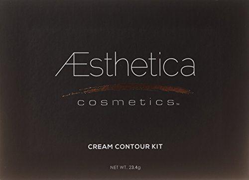 Aesthetica Cosmetics Cream Contour und Highlighting Makeup Kit - Kontur-Foundation / Concealer-Palette - Vegan, ohne Tierversuche und hypoallergen - Schritt-für-Schritt-Anleitung inklusive - http://uhr.haus/aesthetica/aesthetica-cosmetics-cream-contour-und-makeup