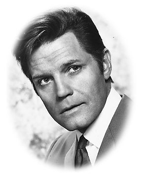 Jack Lord (real name John Ryan). I had such a crush on him! Actor & artist, most famous for his role as Steve McGarrett on the original Hawaii 5-O!