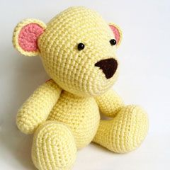 Mr. Teddy amigurumi crochet pattern by Ahmaymet