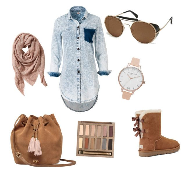 """Untitled #49"" by lenshop-gr on Polyvore featuring UGG, ill.i Optics, Urban Decay, Olivia Burton and TravelSmith"