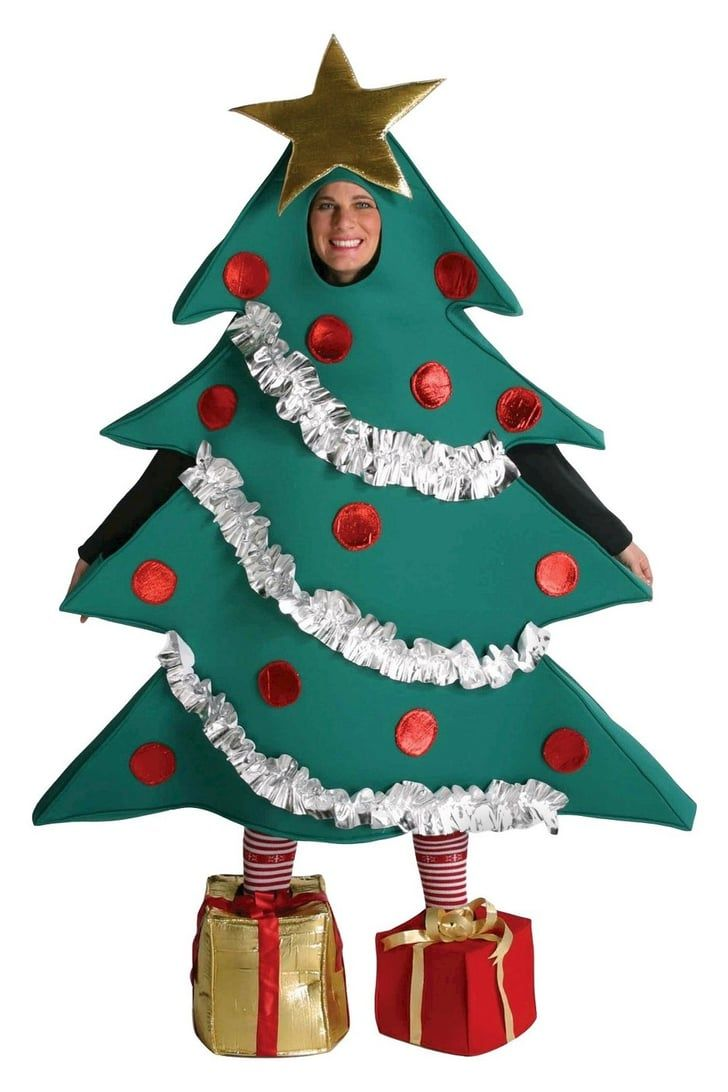 Amazon Is Selling A Wearable Christmas Tree And It Comes With Presents As Shoes So Good Luck Walking Christmas Tree Costume Tree Halloween Costume Tree Costume