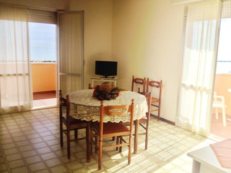 Residence Rainbow appartamenti tipologia BLUE (soggiorno)