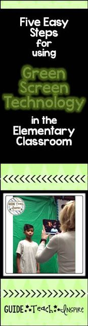 Thank you Guide, Teach, Inspire for this easy guide to using Green Screen Technology (and Do Ink) in the classroom. Its a great planning tool especially for persuassive writing pieces.